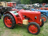 1947 David Brown Cropmaster, Petrol/TVO, V5, road licenced, fully restored, new tyres, custom cover.
