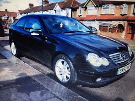 For Sale 52 plate /2003 Mercedes C220 CDI 6 speed manual