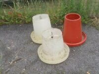 CHICKEN FEEDERS X2 LARGE £6 EACH