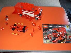 Lego Racers, Ferrairi Transporter Set