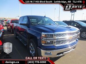 Used 2014 Chevrolet Silverado 1500 LTZ Crew Cab-Heated/Cooled Le