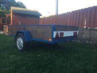 Car trailer 8 x 4