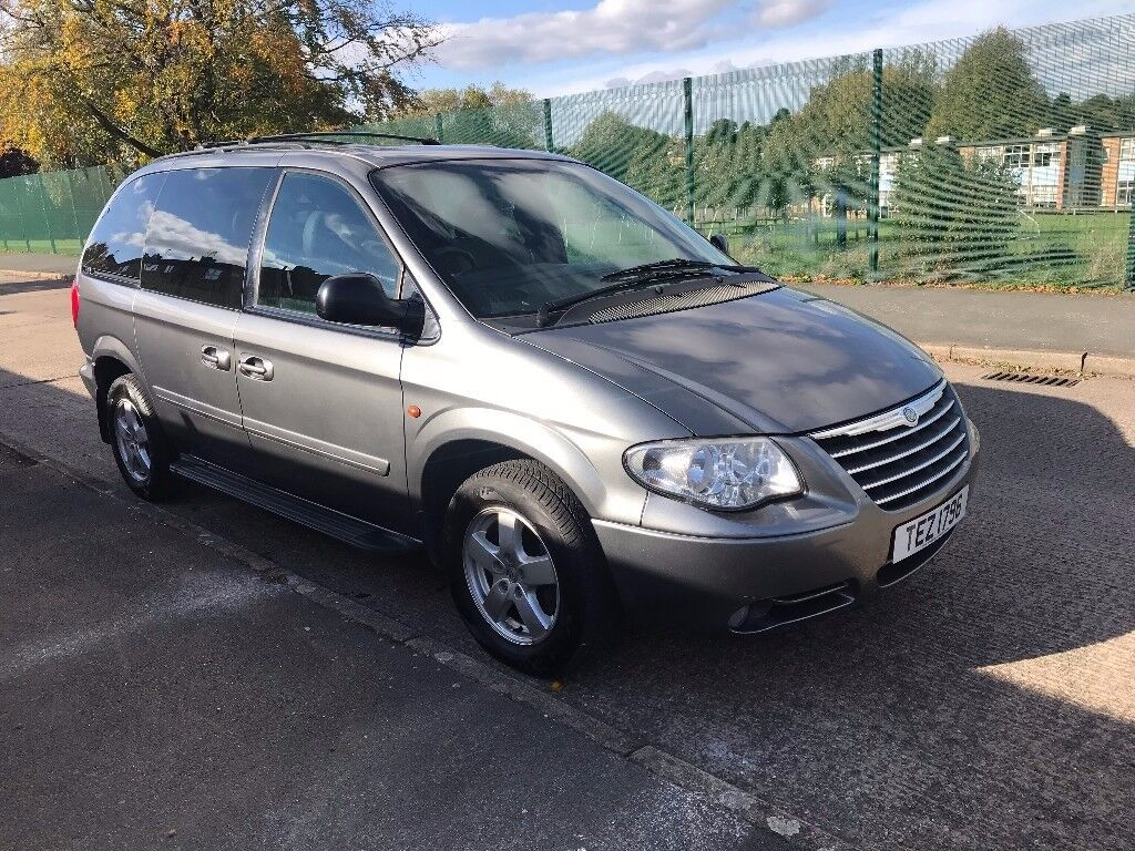 2008 CHRYSLER VOYAGER 2.8 CRD AUTOMATIC DIESEL, 7 SEATS, LEATHER.