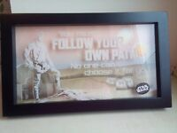 Star Wars Quote Decoration Frame