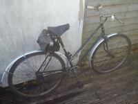 Classic Triumph Ladies 3 speed bicycle - Town bike