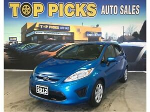 2012 Ford Fiesta SE, Hatchback, Bluetooth, Heated Seats & More!