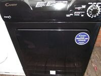 Black Candy 8Kg Condenser Dryer in good working order and comes with 3 months warranty **STAR BUY**