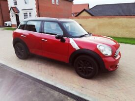 Superb Mini Countryman. Low miles. 6 gear manual. Full Mini Service. 1 lady driver. Euro6Diesel .