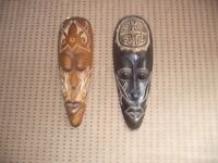 Tribal Masks (pair)