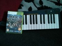 Rock Band 3 with Keyboard Controller (Xbox 360)
