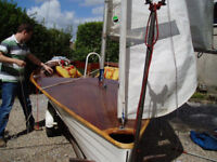 Merlin Rocket 3200 sailing dinghy