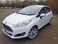"Ford Fiesta 1.0 Ecoboost Titanium - LOW MILEAGE - 17"" ALLOYS - £850 EXTRAS"