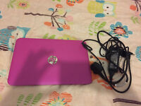 HP Steam pink notebook pc 11