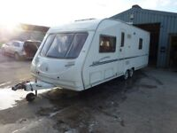 Sterling Eccles Elite Twin Axle Fixed Bed Touring Caravan