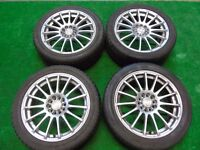 """CALIBRE 17"""" ALLOY WHEELS FORD FOCUS, MONDEO, GALAXY, TRANSIT CONNECT, S-MAX ( our ref 052 )"""