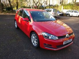 Volkswagen Golf 2.0 TDI GT Tornado Red 2014