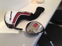 Golf club - TaylorMade Burner Fairway 3 Wood 15 Degree / Regular Shaft RE-AX - matching head cover