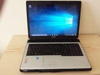 "toshiba l350 17"" laptop"