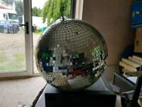 18inch Disco or party mirror ball lighting effect