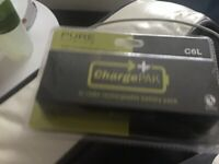 PURE CHOICE CL6 rechargeable battery pack IN THE BOX NEVER OPENED