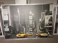 Ikea picture scanprint New York Time Square VGC