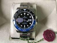 Swiss Rolex GMT-Master Batman Automatic Watch