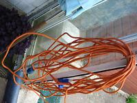CARAVAN CAMPER MOTOR HOME ELECTRIC HOOHUP CABLE [approx 21 metres]
