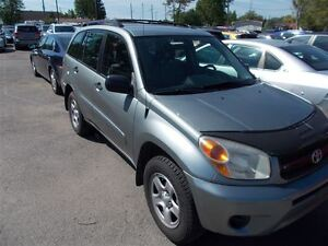 2004 Toyota RAV4 Isn't it time for a real car? It must be love.