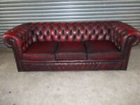 Winchester Chesterfield Leather 3-seater Sofa (Suite)