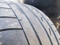 Sell tyre Bridgestone potenza a050 run on flat