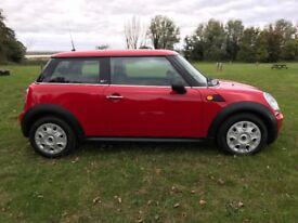 Red mini 1.4 First Edition with 12 months MOT