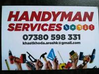 Handyman, shop fitters, tillers, kitchen and bathroom