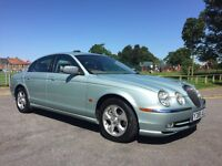 JAGUAR S-TYPE LOW MILES LEATHER FULL YEARS MOT EXCELLENT CONDITION