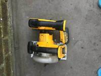 Dewalt skill saw and jigsaw