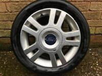 14 inch ford alloy wheels.