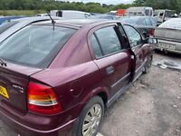 Vauxhall Astra breaking parts available