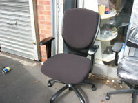 Office chair in Black like new mint condition £45 (yes, it's available)