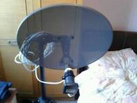 Camping sky dish new never ever used it