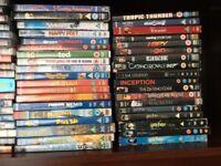 Mixed bundle dvd's.