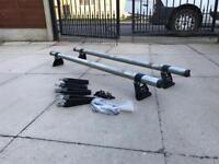 Transit connect rhino roof bars new shape rack