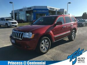 2010 Jeep Grand Cherokee Limited| Leather| Sunroof|AWD