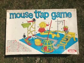 'IDEAL' toys, Vintage Mouse trap game