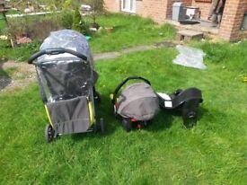 Graco Pram and Car Seat. From infant to toddler