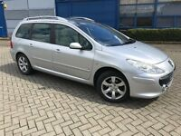 2007/07 Peugeot 307 SW SE 1.6 Hdi Diesel Estate Manual - Cheap Car P/X To Clear - Must Go