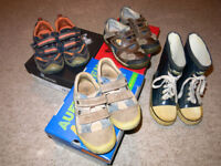 Boys shoes, Geox 27, Clarks 27.5, Richter 27, Ricosta 28 and more
