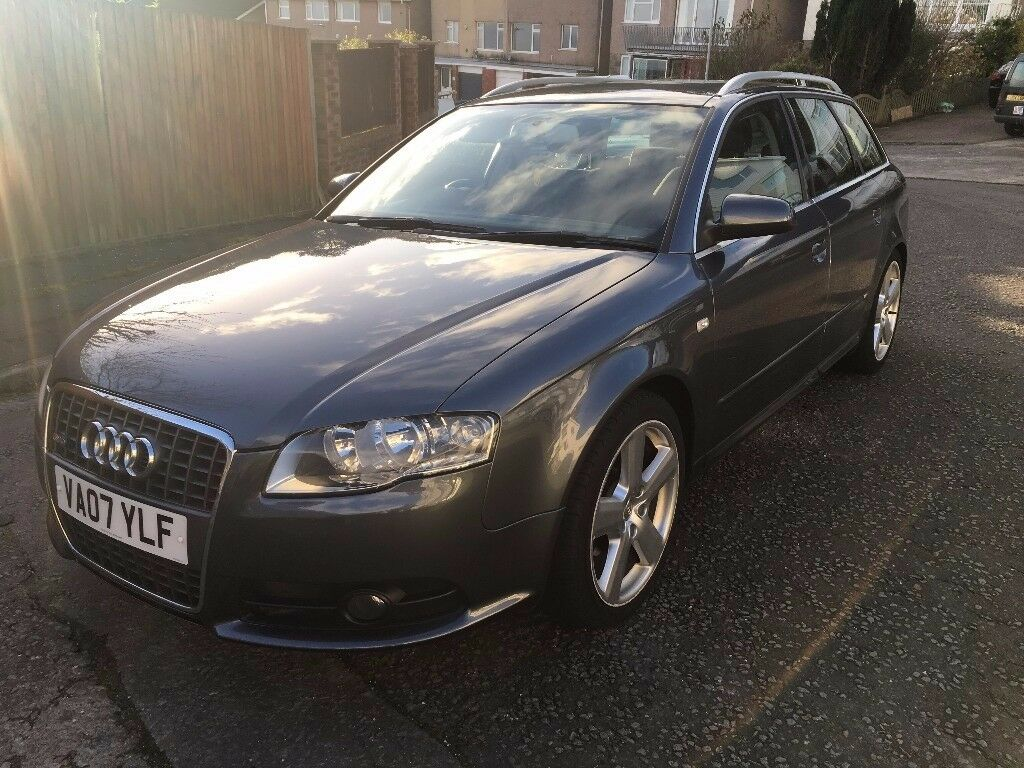 audi a4 avant 2 0 tdi s line 5dr mot 25 08 2018 1 previous owner in swansea gumtree. Black Bedroom Furniture Sets. Home Design Ideas