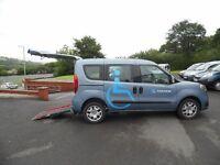 Fiat Doblo Wheelchair Accessible - 1.6 Diesel - NEW