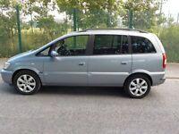 2005 Vauxhall Zafira Breeze, 1.6 Petrol,Top Specs 7 Seater, Alloy Wheels, HPI Clear,Service History