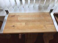 Pine Shelves x2 with x4 brackets £15