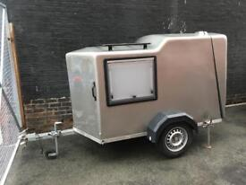 motorhome car teardrop trailer luggage hauler indespension towavan